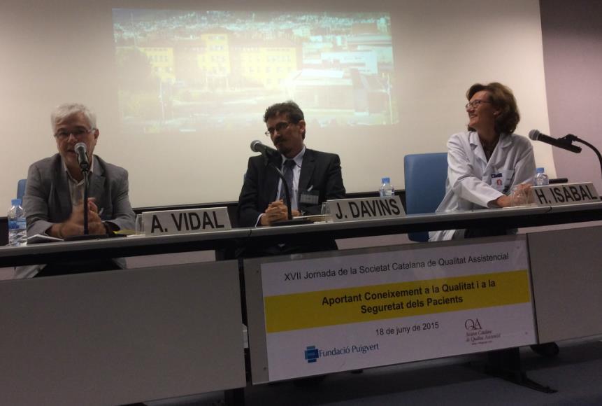 Balanç de la XVII Jornada de la SCQA 'Aportant Coneixement a la Qualitat i a la Seguretat dels Pacients'