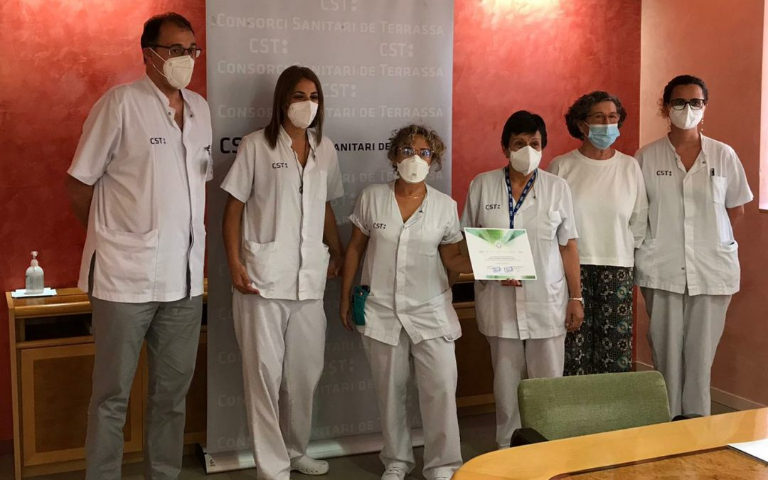 El Servei de Cures Pal·liatives del Consorci  Sanitari de Terrassa, el primer d'Espanya en rebre l'acreditació d'atenció al pacient amb dolor oncològic